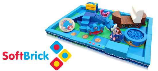 NEW! The Play Zone with The Soft Brick Company image