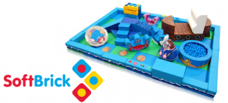 NEW! The Play Zone with The Soft Brick Company